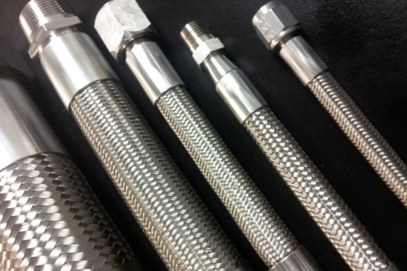 welded metal hose assemblies
